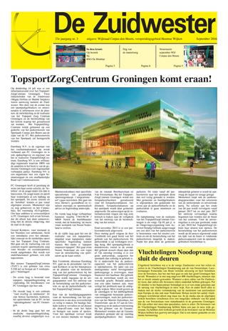 Zuidwesterfront SEPTEMBER 2016